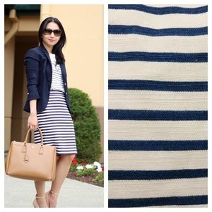 J.Crew / no 2 pencil skirt in blue deck stripe